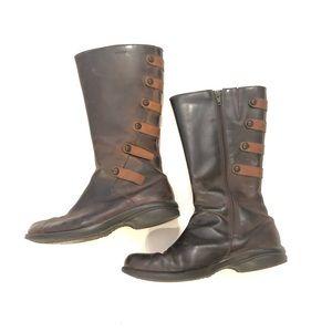 Merrell Cinnamon waterproof tall 7.5 boots brown